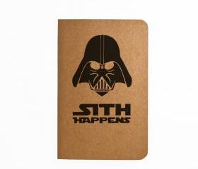 Sith Happens - Handmade Notebook